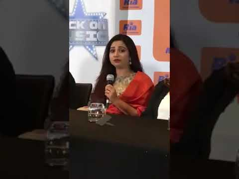 Shreya Ghoshal | Lag Ja Gale| UK/Netherlands Press Conference 2018|40 Musician 1 Voice