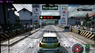 PC Ati HD 3870 1440x900 World Rally Championship 2010 Gameplay FPS