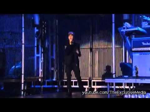 Justin Bieber Ft. Miley Cyrus  Overboard - Live (Never Say Never DVD Version)