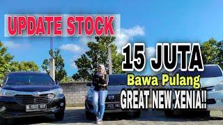 UPDATE STOCK || GREAT NEW XENIA R 2016 DP MULAI 15 JUTA di SHAKA MOTOR TULUNGAGUNG