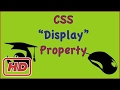 [Javascript Tutorial] css property display block inline none initial ( HTML5 css3)