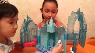 Ледяной дворец Эльзы. Холодное сердце.Disney. 2 Часть.