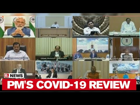 PM Modi Holds COVID-19 Review Meet With All CMs Across India Via Videoconference