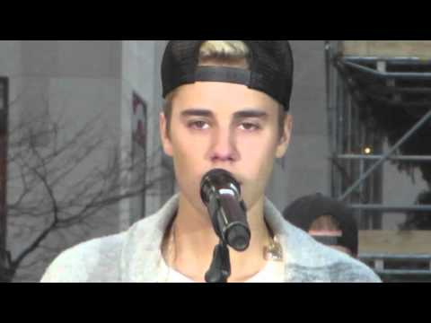 Love Yourself (Soundcheck) Today Show - Justin Bieber at Rockefeller Center, NYC 11/18/15