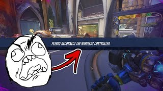 The WORST Controller Luck... - Overwatch Funny Moments & Best Plays 22