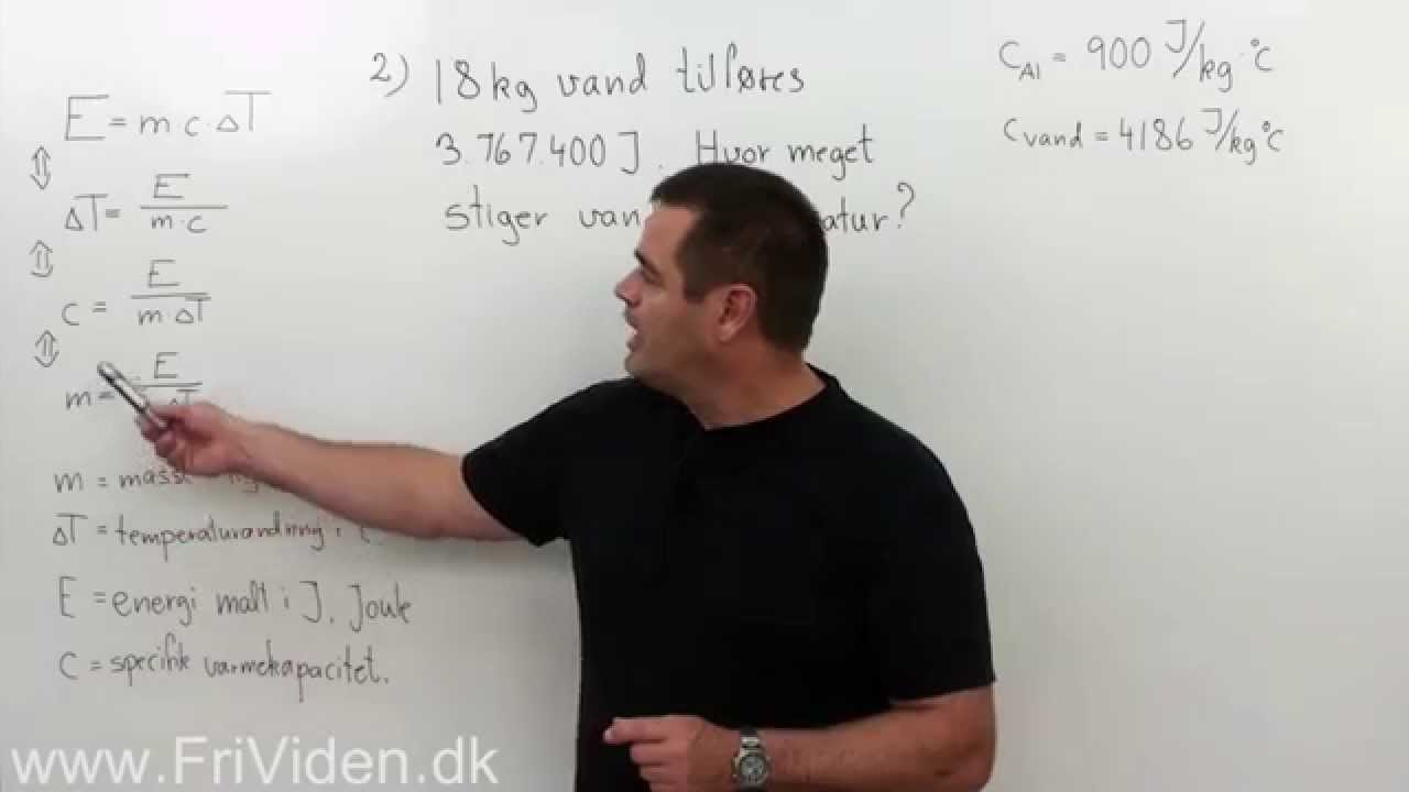 termisk energi formel