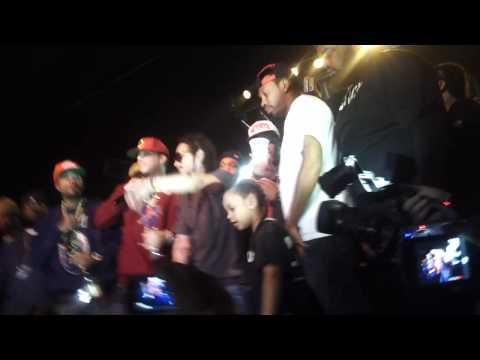 French Montana & Lil Poopy - Return of the mac [ LIVE ]