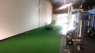 Youth Football Training In Raleigh, Nc | Heavy Sled Drags