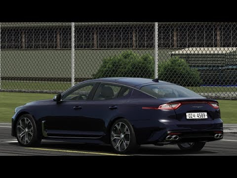 Kia Stinger GT At Top Gear Test Track / Assetto Corsa