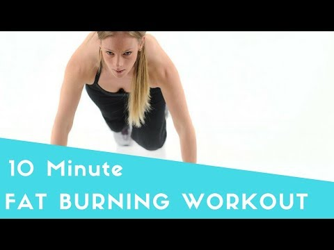 Workouts for Weight Loss at Home (Fat Burning HIIT Body Weight Workout)