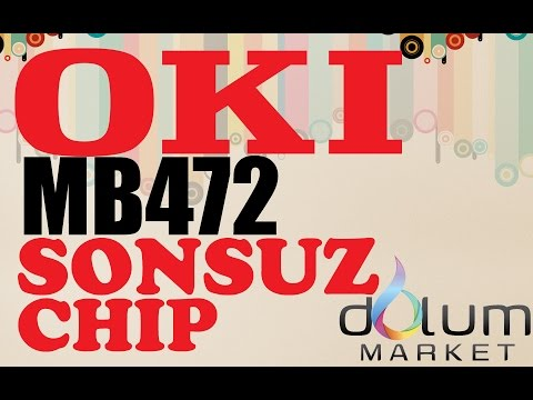 OKI MB472 Reset Sonsuz Chip Reset Modül by Dolum Market