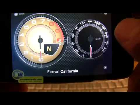 Official Ferrari engine sounds iPhone app
