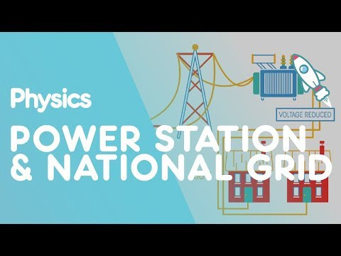 Power stations and the national grid | Electricity | Physics