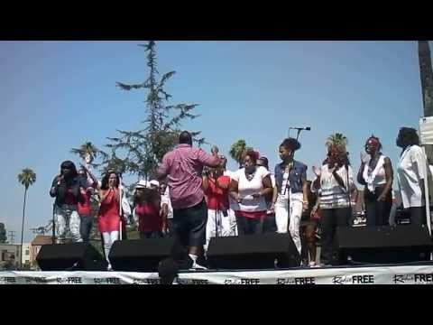 4th of July KJLH Radio Free Performance Choir