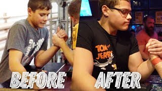 The story of the SCHOOLBOY armwrestler! Who is this guy?