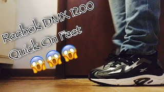 Reebok DMX 1200 (Black) On Feet - YouTube