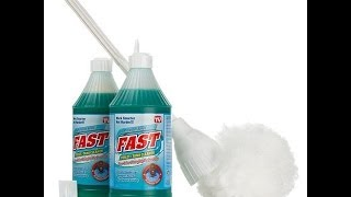 Fast Toilet and Tank Cleaner Duo with Toilet Swab