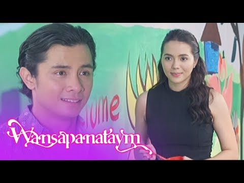 Wansapanataym: Annika shows her feelings for Jerome through painting.