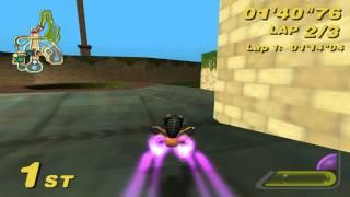 Star Wars: Super Bombad Racing (PS2) walkthrough - Theed City