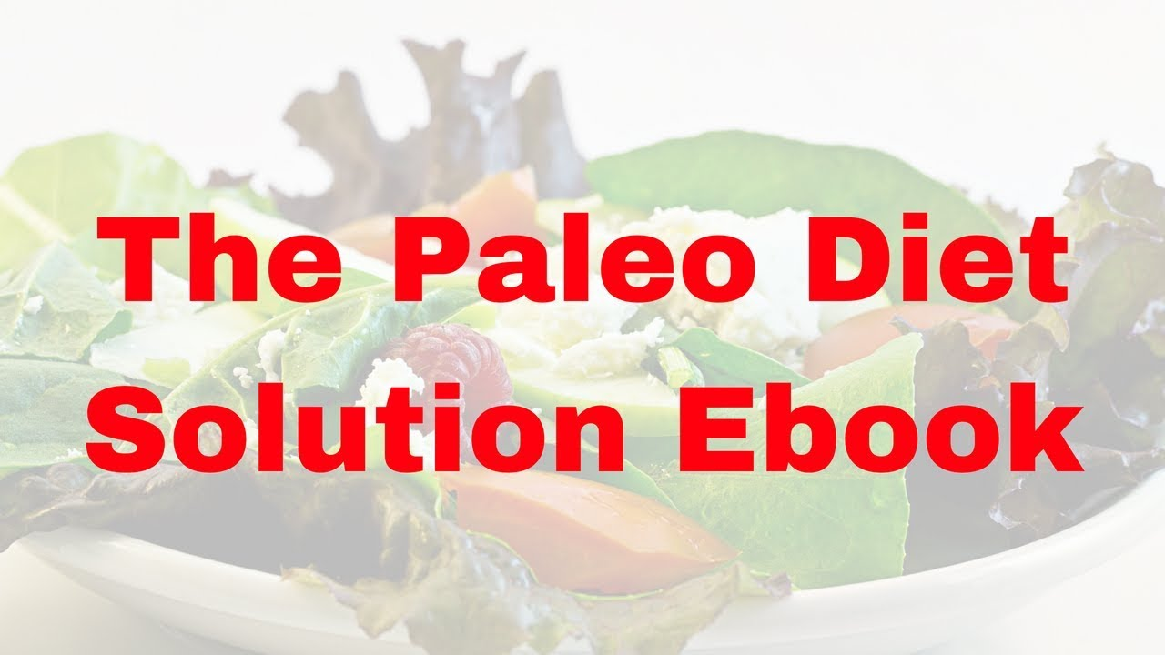 Solution the ebook paleo