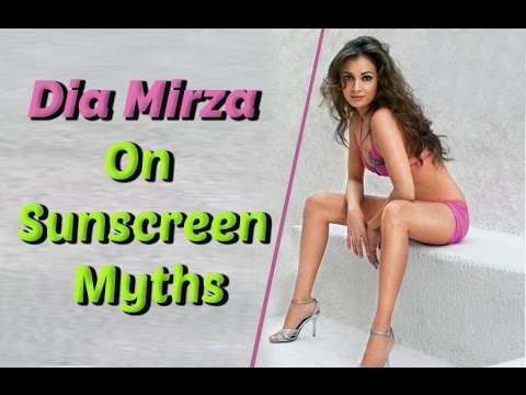 SUNSCREEN MYTHS! Dia Mirza Shatters Them For You