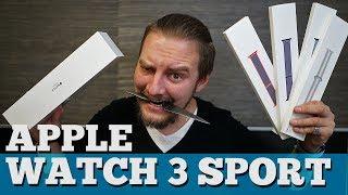 Apple Watch Series 3 - Распаковка и мнение