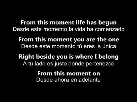 ♥ From This Moment On ♥ Desde Ahora En Adelante ~ Shania Twain - subtitulada en inglés y español