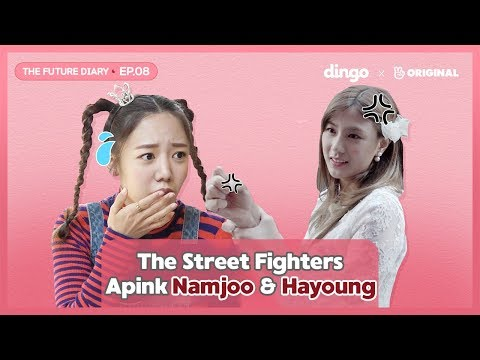 Apink Namjoo Completes Impossible Mission of Hayoung [Future Diary_EP.08] • ENG SUB • dingo kdrama