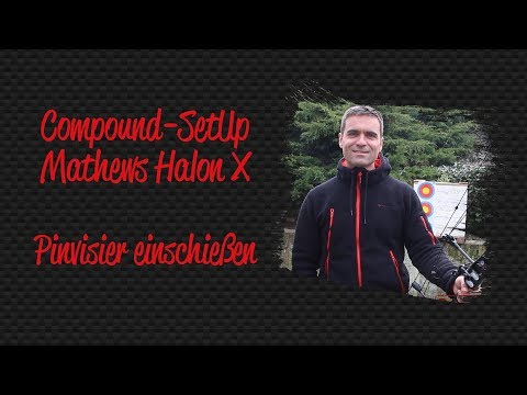 Compound-SetUp Mathews Halon X - Visier einschießen