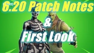 6.20 Patch Notes and First Look / Fortnite Save the World