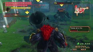 Hyrule Warriors Ganon's Fury - Dark Beast Ganon Gameplay - Survival Battle LV. 4