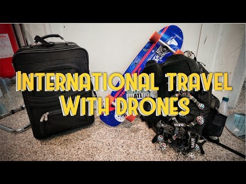 Traveling with Drones (What can I Bring?)