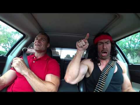 Arnold & Stallone Carpool Karaoke