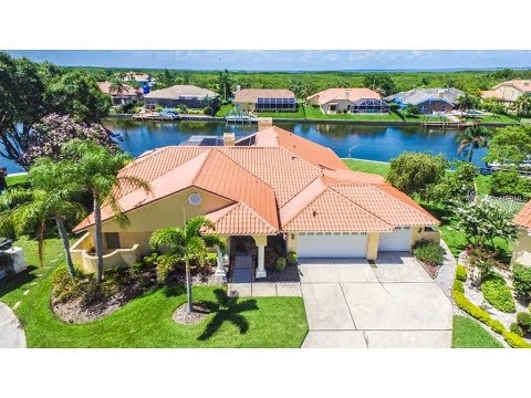 5802 Cruiser Way Tampa Bayside Villages of Bayport Luxury Waterfront Home Video Duncan Duo RE/MAX