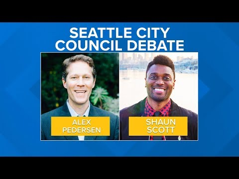 Seattle City Council District 4 debate: Alex Pedersen and Shaun Scott