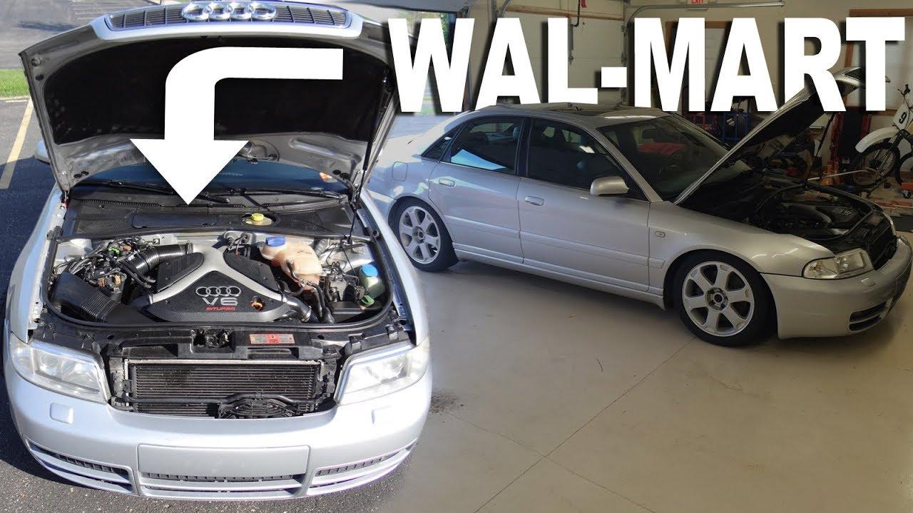 EverStart Maxx Car Battery Install   2001 Audi S4