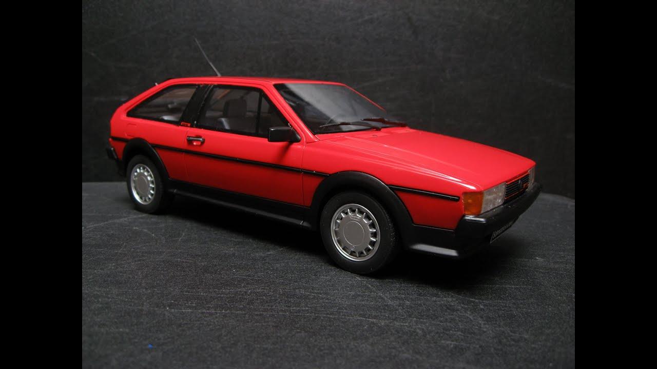 volkswagen scirocco ii gtx 16v �1987 otto mobile models 1