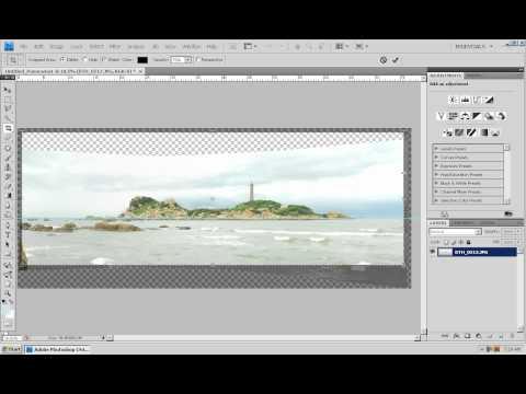 Photoshop CS4 - Phan 1 - Bai 27 - Tao anh Panorama