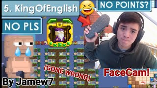 FaceCam Video! Guild Event Day End! (Gone Wrong!🤣) | Growtopia | Jamew7