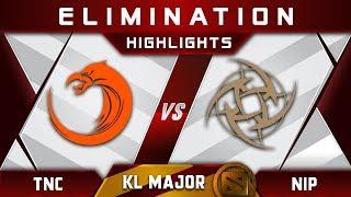 TNC vs NiP [TOP 4] Kuala Lumpur Major KL Major Highlights Dota 2