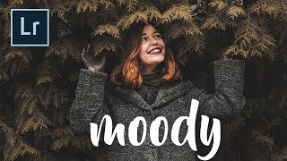 Get that Moody / Matte look on your photos! +FREE PRESET // Lightroom CC