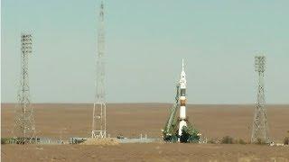 DIREKTE: Rakettoppskytning i Kazakhstan