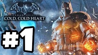 Batman: Arkham Origins - Cold Cold Heart DLC Gameplay Walkthrough PART 1 (Xbox 360/PS3/PC HD)