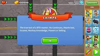 BTD6 - Advanced Daily Challenge - Dart Monkey is Key - Ouch Hard CHIMPS - January 21