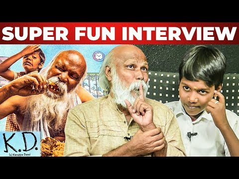 Biryani Eating Scene - KD Movie Team | Nagavishal & Mu Ramasamy Fun Interview