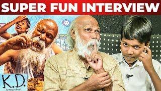 Biryani Eating Scene – KD Movie Team – Nagavishal & Mu Ramasamy Fun Interview