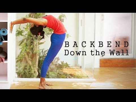 How to do a Backbend Down the Wall