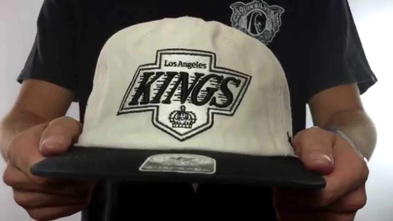 3d19104dd24 Kings  MARVIN SNAPBACK  Ivory-Black Hat by Twins 47 Brand - YouTube