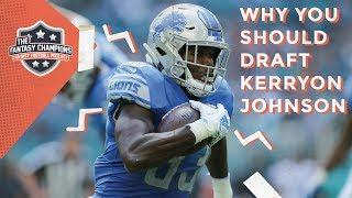 Why You Should Draft Kerryon Johnson | Episode 40 Highlight
