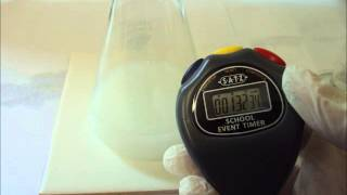 Determing Rate Equation for Sodium Thiosulfate and Hydrochloric Acid